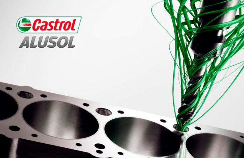 Castrol Alusol XBB, mecanizado de aluminio garantizado