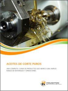 Catálogo HOUGHTON sobre aceites de corte puros