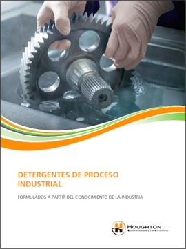 Catálogo HOUGHTON sobre detergentes de proceso industrial