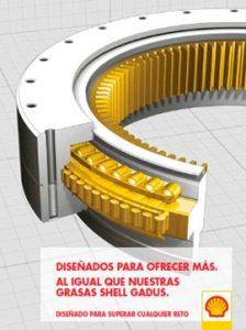 Catálogo SHELL sobre grasas, gama GADUS