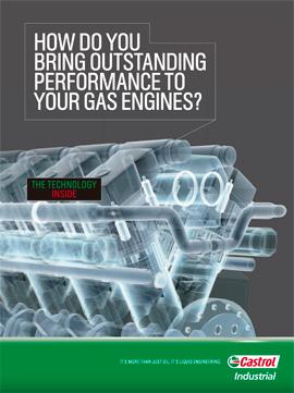 Catálogo CASTROL sobre motores de gas