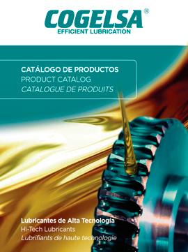 Catálogo general COGELSA sobre lubricantes de alta tecnología