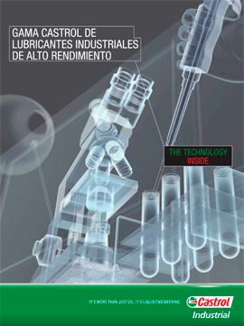 Catálogo CASTROL sobre lubricantes industriales de alto rendimiento