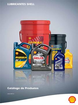Catálogo general de SHELL sobre aceites y lubricantes