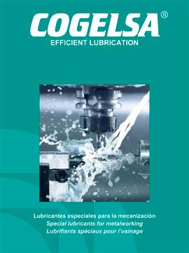 Catálogo COGELSA sobre lubricantes especiales para la mecanización