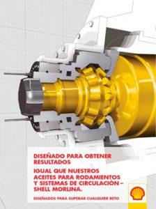Catálogo SHELL sobre aceites para rodamientos y sistemas de circulación, gama MORLINA