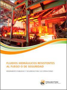 Catálogo HOUGHTON sobre fluidos hidráulicos resistentes al fuego o de seguridad