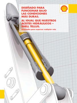 Catálogo SHELL sobre aceites hidráulicos, gama TELLUS