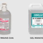 Higienizantes para manos contra COVID 19