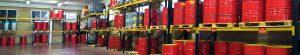 Servicio de stockage de aceites y lubricantes para la industria
